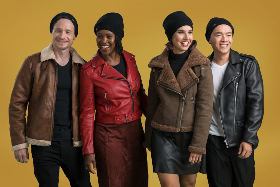 Tuqsat Fall Winter Satin Lined Beanies Tuques Toques For Women and Men
